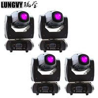Atacado- Frete Grátis 4pcs / Lot 68W Spot Led Dj Light DMX512 10 / 12CH Stage Lighting Effect Party Moving Head Light