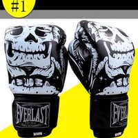 Wholesale Boxing Punching Mitts - New Boxing Gloves Muay Thai Training Mitt UFC Fight Gloves MMA Free Combat Punching Bag With Professional Boxing Match