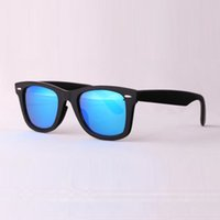 Wholesale Square Boxes - Top quality Plank sunglasses women glass lens men sun glasses Color lens sport glasses Brand sunglasses unisex Glass with original box 50 54