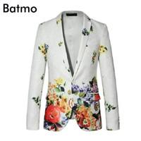 Wholesale Business Men Suit Xxl - Wholesale- 2016 new arrival high quality famous brand casual blazer Business suit jacket free shipping size S,M,L,XL,XXL,XXXL,XXXXL,5XL,6XL