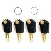 Wholesale Heavy Equipment Wholesalers - 4 Pcs New Caterpillar(CAT) Heavy Equipment Ignition Loader Dozer Key 5P8500