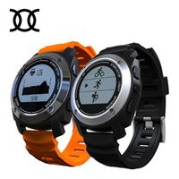 Wholesale Running Watches Heart Rate - Wholesale- 2017 S928 Smart watch Heart Rate Tracker Temperature measure Sports GPS Climb Run Ride calculation Fitness Tracker Smartwatch