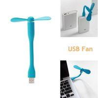 Wholesale New Style Mini Laptop - New Arrival Xiaomi Fan Style Mini Flexible USB Air Fan For Heat Summer Outdoor Home Charge Power Bank Fan for PC Laptop Desktop