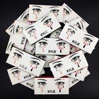 Wholesale Naked Fake - NEW kylie False Eyelashes 20 model Eyelash Extensions handmade Fake Lashes Voluminous Fake Eyelashes For Eye Lashes Makeup naked tarte lorac