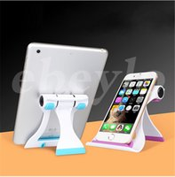 Wholesale Ipad Stand Free Shipping - F1 racing mobile phone flat stand universal multi-stall lazy stent iPad creative desktop stand DHL free shipping