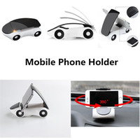 Wholesale Huawei New Models - 2017 New Car Model Phone Holder Car Holder Mount For All Phone 360 Rotating Desk Car styling Mount Holder Stand For Samsung huawei
