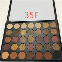Wholesale Earth Eyeshadow Palette - 2017 New Brushes 35 colors Earth Matte eyeshadow palette 35O Makeup Eye Shadow eyeshadow palettes for palette 1pc