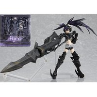 Wholesale Rock Shooter Figure - SP-041 INSANE BLK Anime Black Rock Shooter action model Japanese 15cm cartoon figure Collection PVC toys boxed T7152