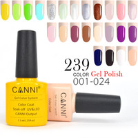 Wholesale Gel Polish Prices - 34pcs*7.3ml CANNI Wholesale Price Free Shipping CANNI UV Color Gel Lacquer Long Lasting Nail Gel Polish