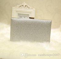 Wholesale Small Shiny Bag - wholesale brand package shiny delicate hand bag beautiful diamond club Dinner Bag simple and elegant wedding banquet sequins small package