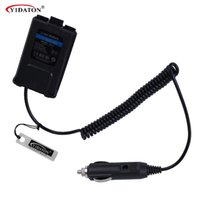 Wholesale baofeng uv 5ra accessories online - V BAOFENG UV R Car Charger Battery Eliminator Adapter For Portable Radio UV R UV RE Plus UV RA Walkie Talkie Accessories
