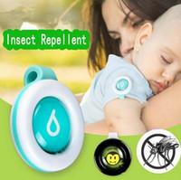 clips de adultos al por mayor-Nuevo botón anti-mosquitos Lindo Repelente de Mosquitos de Dibujos Animados Clip Adultos Niños Verano Repelente de mosquitos no tóxico Hebilla Control de Plagas