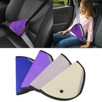 Wholesale Baby Car Seat Safety Straps - Triangle Car Safety Belt Adjust For Child Baby Kids Safety Belt Protector Seat Belt Cover Shoulder Harness Strap