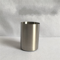 Wholesale Small Steel Spoon - 6 5sh Stainless Steel Beer Cups Small Straight Body Saka Mug Solid Couple Rinse Cup Durable Mugs Classical For Home R