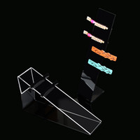 Wholesale Cylindrical Ring - Acrylic Jewelry Head Band Display Stand Hairpin Organizer Cylindrical Jewelry Display Showcase Holder