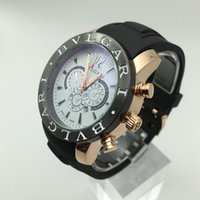 Wholesale Italy Fashion Dresses - Big Dial New Italy Top Luxury Brand AAA Replica Men's Watches Man Fashion Casual Watches High Quality Rubber Band Man Dress Wrist Watch
