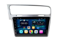 10.2 pulgadas Android 6.0 Car DVD Gps Navi Audio para VW GOLF 7 2013 --- 1024 * 600 OBD 1GB Wifi 3G soporte Original Volante
