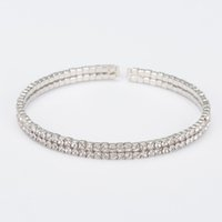 Wholesale White Austrian Crystals Bracelet - Top Quality sliver Plated Inlay Cubic Zirconia Wheat-shaped Bracelets & Bangles Jewelry Austrian Crystal Bracelets The girl a gift