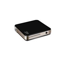 tarjetas de video tv al por mayor-VEZ BOX Multimedia Home Theater Video Proyector compatible con 1080P HDMI Tarjeta SD USB VGA AV para Home Cinema TV Juego portátil Smartphones