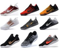 Wholesale Box Elite - High Quality Kobe 11 Elite Men Basketball Shoes Kobe 11 Red Horse Oreo Sneakers KB 11 EP Sports Sneakers With Shoes Box