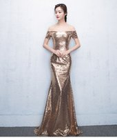 Wholesale lady shining dress clothing Golden lady dress Stage strapless Wear LDDS R
