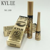 Wholesale Eyelash Extension Liquid - kylie jenner cosmetics Makeup 3D Fiber EyeLashes Extension Mascara+ Gel Eyeliner 2 in 1 Sets Waterproof