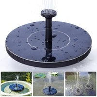 Pool Pumps outdoor fountain kits - New Coming Mini Panel System Powered Solar Water Fountain Pump for Home Garden Pond Outdoor Floating Fountains Kit V W