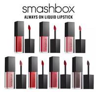 Wholesale Smooth Stick - New Arrival Smashbox Waterproof Brand Matte Liquid Lipstick Moisturizer Smooth Lip Stick Long Lasting Lip Gloss Cosmetic Beauty Makeup