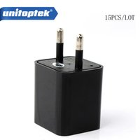 15pcs / lot 16GB 1080P USB Spy Camera Adaptador AC USB Wall Charger Camcorder DV Vigilância Câmera escondida