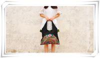 Wholesale Wholesale Ethnic Hobo Bags - Ethnic style embroidery bag wholesale fashion lady embroidery personalized handbag