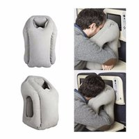 Wholesale Wholesale Neck Travel Pillow - Inflatable Cushion Travel Pillow The Most Diverse & Innovative Pillow for Traveling Airplane Pillows Neck Chin Head Support Car Airplane