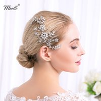 Wholesale Diamonds Bridal Headpieces - 2018 Luxury Bridal Hair Comb Rhinestone Bridal Head Piece Wedding Headpiece Wedding Hair Jewelry Bridal Hair Accessories Hairpiece