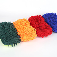 Wholesale Wholesale Car Wash Gloves - Cleaning Tool car wash gloves towel Car Wash Cleaning glove equipment Car detailing Cloths Home Duster cleaning