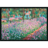 Wholesale Hand Painted Oil Reproductions - An interior design wall art crafts you can not miss Le Jardin de Monet a Giverny by Claude Monet hand painted reproduction