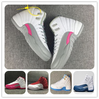 Sconto 12s XII Retro Scarpe da pallacanestro di lana THE MASTER BLACK GOLD GG GS uomo Scarpe sportive Athletics White OVO Wings Scarpe da donna blu francesi