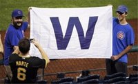 "Wholesale Wholesale Team Flags - Chicago Cubs ""W"" MLB Banner Flag 3' x 5' Win Fan Baseball Team Decor"
