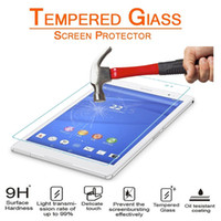 Wholesale z2 tablet for sale - Group buy Explosion Proof H mm Screen Protector Tempered Glass for Sony Z2 Z3 Z4 Tablet