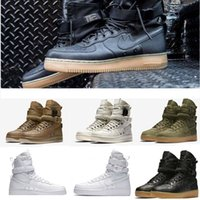 Wholesale Cheap Man Cowboy Boots - NEW cheap boots SB Famous Special Forces Force 1 One boots Faded Olive men and women sneakers 1Racer high men's EUR 36-45