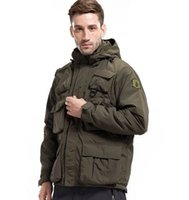 Wholesale military jacket liner - Men's Lurker Shark Skin Soft Shell Outdoor Military Tactical Jacket Waterproof Windproof Sports Army Camouflage Clothing Hot Sale