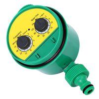 controlador de agua de riego al por mayor-Nuevas Herramientas de Jardín LCD Inicio Inteligencia Electrónica Digital Temporizador de Agua Regulador de Irrigación de Jardín Sistema de Programas de Agua