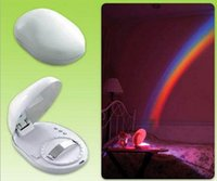 Wholesale Amazing Led Projection - Colorful Rainbow Projector Rainbow Lamp LED Night Light Amazing Nursery Room Decor Gift For Baby Kid Child