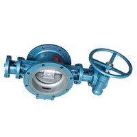 Wholesale Stainless Steel Made China - Gas Butterfly Valve High Quality Cast Iron Stainless Steel Metal-Seal Butterfly Valve Plumbing Made in China