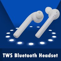 Wholesale Earphone For Apple Iphone - New Binaural Bluetooth Earbuds Wireless Headphones headsets Stereo In-Ear Earpieces Earphones for Apple airpods iPhone 7  7plus 6 6s plus