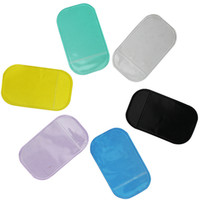 Wholesale Gel Magic Sticky Pad - Anti Slip Mat Non Slip High quality Car Magic Anti-Slip Dashboard Sticky Pad Phone Holder Adsorbability Silica Gel Magic Car Sticky Pad