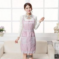 Wholesale Fans Manufacturers - Apron manufacturers Fan or licensing double thick waterproof Korean Princess Korean apron custom gift advertising aprons