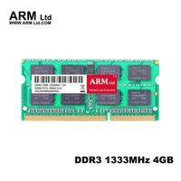 Wholesale Pins Arms - Notebook PC ARM Ltd 4Gb 1333 1600Mhz Memory PC3-10600 SDRAM 204-Pin SO-DIMM DDR3 RAMs Computer Components super-speed RAMs Lifetime Warranty