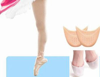 1 paio / lotto Silicone Gel Toe Soft Dance Ballet Dance Pads Protezione piede Foot High Heel Toe Pads Gel ortopedico Massager