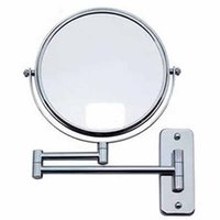 Wholesale KG Double sided Wall Makeup Mount Mirror with x Magnification Chrome Plated inch inch inch