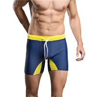 Wholesale Sexy Tether Pants - Wholesale- Swimwear Mens Sexy Briefs Hot Swimming Swim Trunks Tether Shorts Swimwear Pants Swim Suits Surfing Beach Trunks Shorts Brief