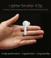 Wholesale Cell Phone Blue Tooth - Blue tooth 4.0 wireless earphone bluetooth universal headphone noise reduction earphone wateproof for iPhone 6 7 Samsung free shipping